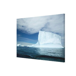 Ice Bergs off of the southern tip of South 2 Canvas Print