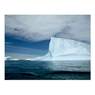 Ice Bergs off of the southern tip of South 2 Postcard
