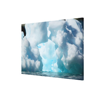Ice Bergs off of the southern tip of South Canvas Print