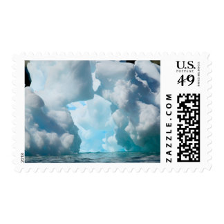 Ice Bergs off of the southern tip of South Postage Stamp