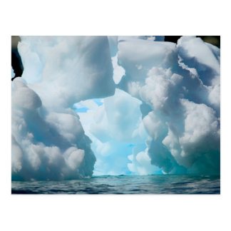 Ice Bergs off of the southern tip of South Postcard