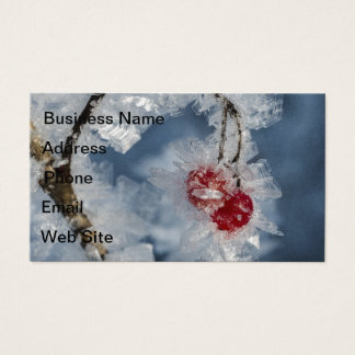 Ice Berries Business Card