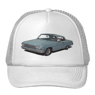 Ice Blue 62 Impala Trucker Hats