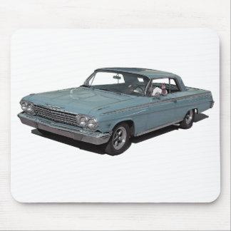 Ice Blue 62 Impala Mouse Pad