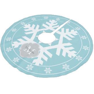 Ice Blue Christmas Tree Skirts Zazzle - Blue Christmas Tree Skirt