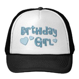 Ice Blue Birthday Girl Hat