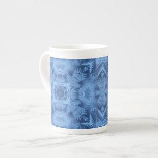 Ice Blue Bone China Mug Tea Cup