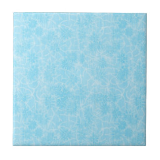 Ice Blue flower Munstur Tile