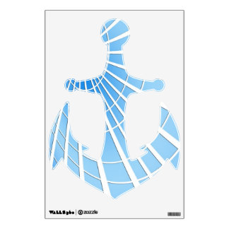 Ice Blue Radiance Wall Decal