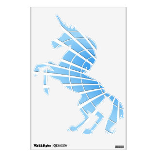 Ice Blue Radiance Wall Sticker
