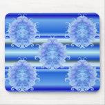 Ice Blue Scarab Mousepad