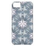 Ice Blue Snowflake iPhone 5C Cases
