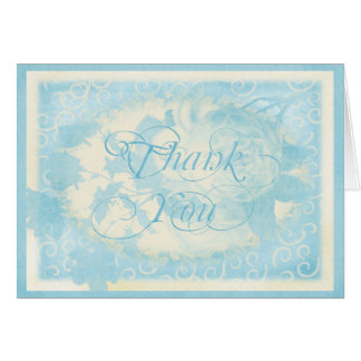 ice blue thank you  copy card