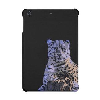 Ice Blue Tiger Abstract iPad Mini Retina Covers