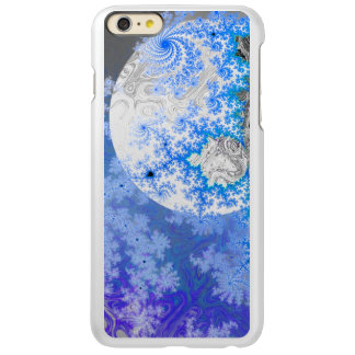 Ice Blue White Fractal Galaxy Universe Bright Star Incipio Feather® Shine iPhone 6 Plus Case