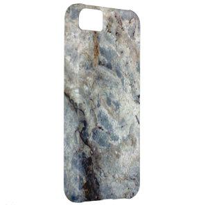 Ice blue white marble stone finish case for iPhone 5C