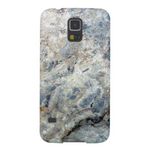 Ice blue white marble stone finish galaxy s5 cover