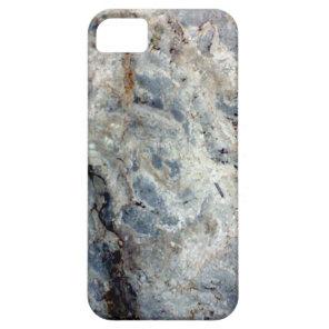 Ice blue white marble stone finish iPhone SE/5/5s case