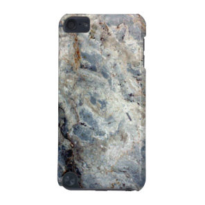 Ice blue white marble stone finish iPod touch 5G cover