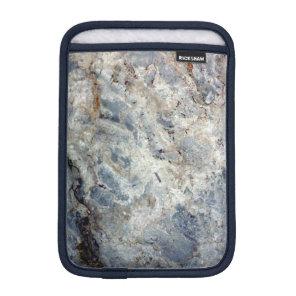 Ice blue white marble stone finish sleeve for iPad mini