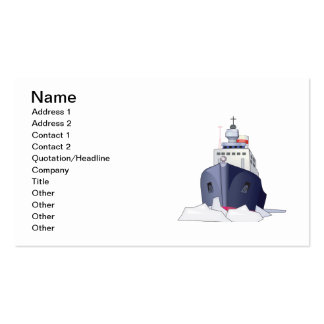 Ice Boat Business Card