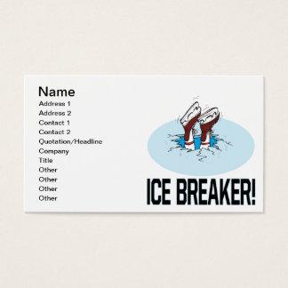 Ice Breaker Business Card