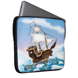 Ice Breaker Ship Laptop Sleeve