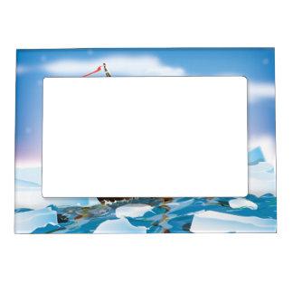 Ice Breaker Ship Magnetic Photo Frame
