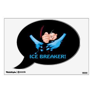 Ice Breaker Wall Decal