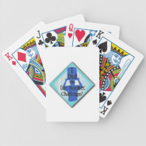 Ice Bucket Challenge Bicycle Playing Cards