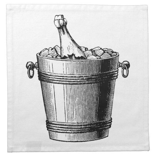 Ice Bucket Cocktail Napkins