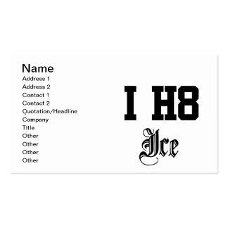 ice business card