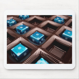 Ice candy cubes mouse pad