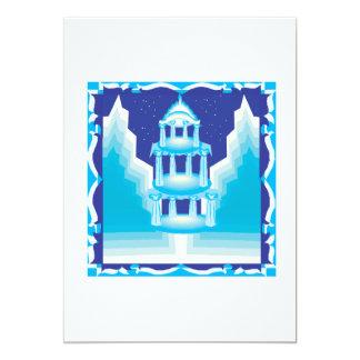Ice Castle Card