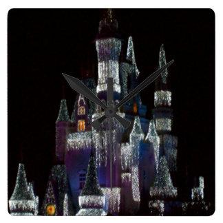 Ice Castle Clock