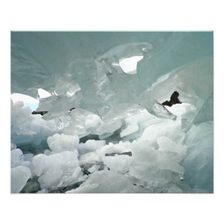 Ice cave photographic print