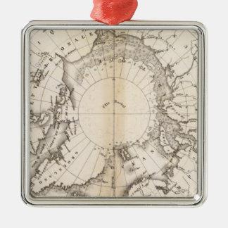 Ice Chart boreal Christmas Tree Ornament