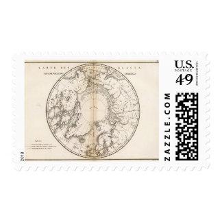Ice Chart boreal Stamp
