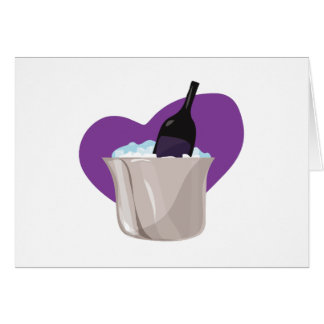 Ice Chest Wine Greeting Card