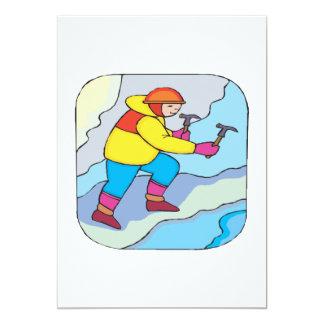 Ice Climbing Card