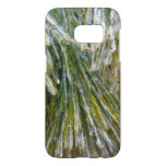 Ice Coated Pine Needles Winter Nature Photography Samsung Galaxy S7 Case