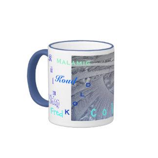 Ice Coffee - Ice Tea Ringer Coffee Mug