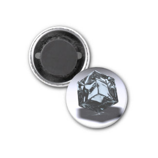 ICE COLD 1 INCH ROUND MAGNET