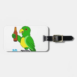 Ice Cold Beer Bag Tag