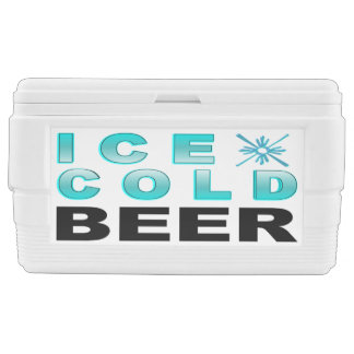 Ice Cold Beer Chest Cooler