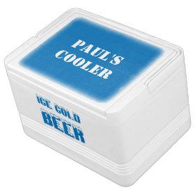 Ice Cold Beer Igloo Drink Cooler