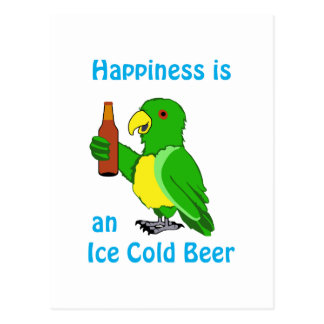 Ice Cold Beer Postcard