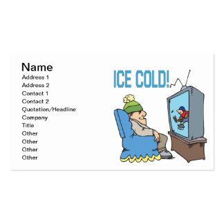 Ice Cold Business Card Templates