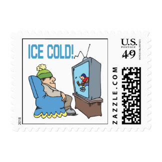 Ice Cold Postage Stamp