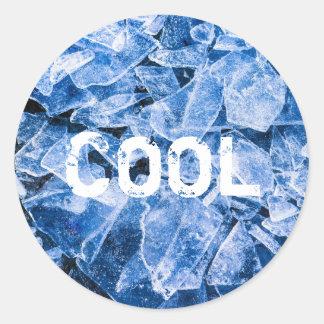 Ice Cool Classic Round Sticker